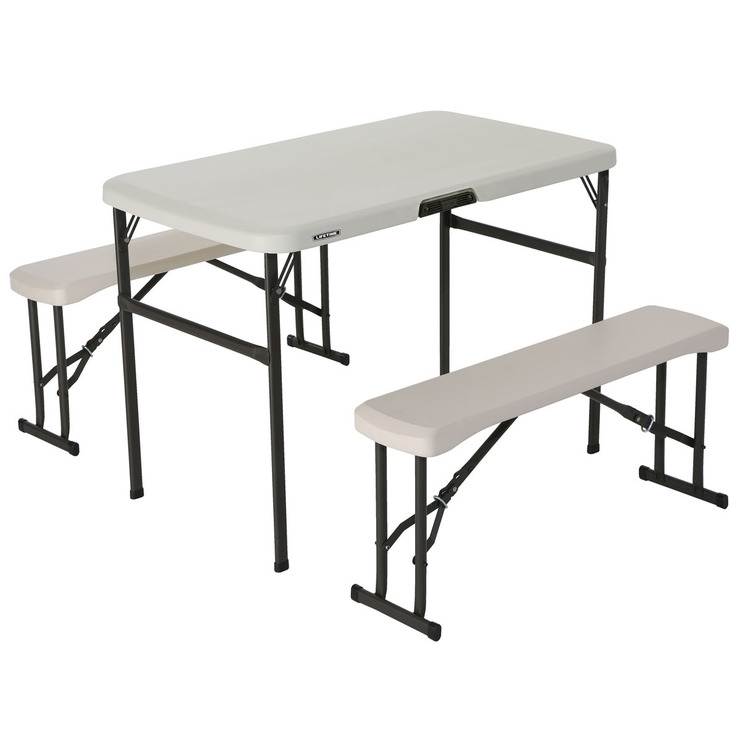 라이프타임 피크닉 캠프 테이블 & 의자 세트 Costco 코리아